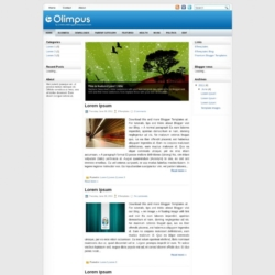 Olimpus Blogger Template