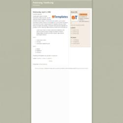 Patarang Tambung Blogger Template