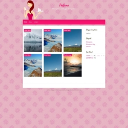 Perfume Blogger Template