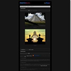 Photoblog Blogger Template