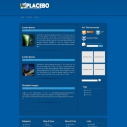 Placebo Blogger Template