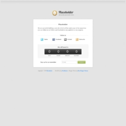 Placeholder Blogger Template