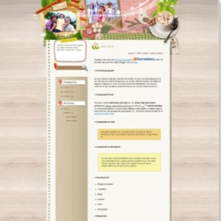 Quality Time Blogger Template
