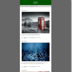 Quick Pic Blogger Template
