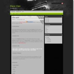 Race Clan Blogger Template