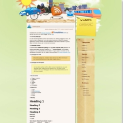 Real Fairy Tale Blogger Template