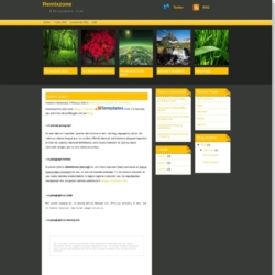 Remixzone Blogger Template