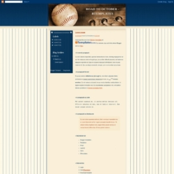 Road To October Blogger Template