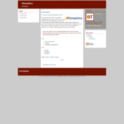 Rounders Blogger Template