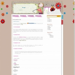 Scrap Blogger Template