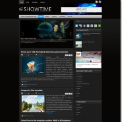 ShowTime Blogger Template