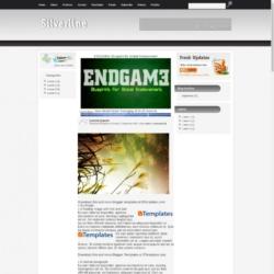 Silverline Blogger Template
