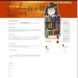 Smart Girl Blogger Template