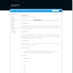 Splendid Blogger Template
