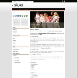 Stoxi Blogger Template