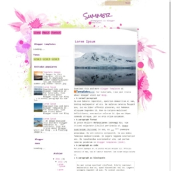 Summer Blogger Template