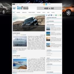 SuvPress Blogger Template