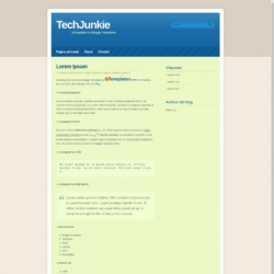 TechJunkie Blogger Template