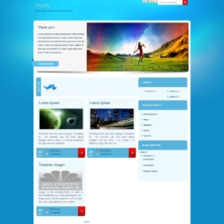 Teraphy Blogger Template