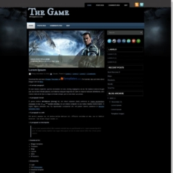 The Game Blogger Template