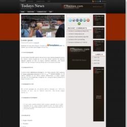 Todays News Blogger Template