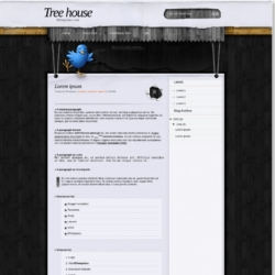 Tree house Blogger Template