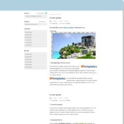Typoork Blogger Template
