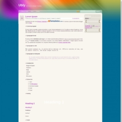 Ubly Blogger Template