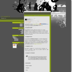 Unchained Fun Blogger Template