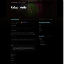 UrbanArtist Blogger Template