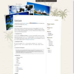Vc Bliss Blogger Template