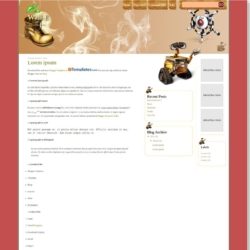 Wall-E Blogger Template