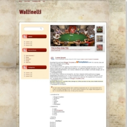 Wallinelli Blogger Template