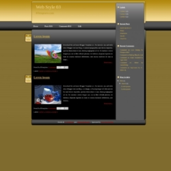 Web Style 03 Blogger Template