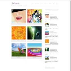 Whitemagic Blogger Template