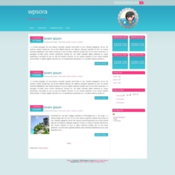 WP Sora Blogger Template