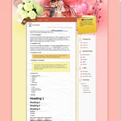 Yes I Do Blogger Template