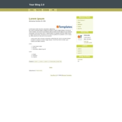 Your Blog 2.0 Blogger Template