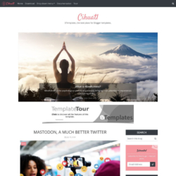 Cihuatl Blogger Template